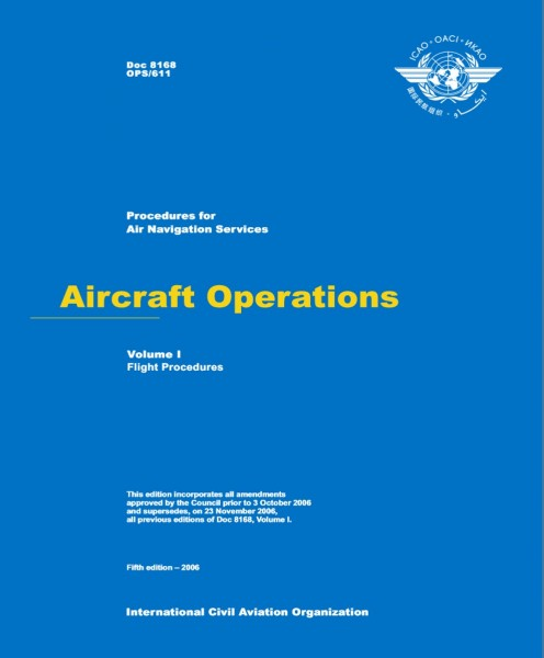 ICAO Document 8168 - Volume I - OPS