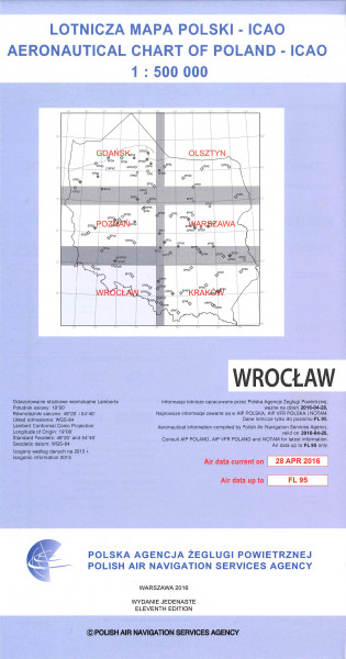 ICAO-Karte Polen Wroclaw