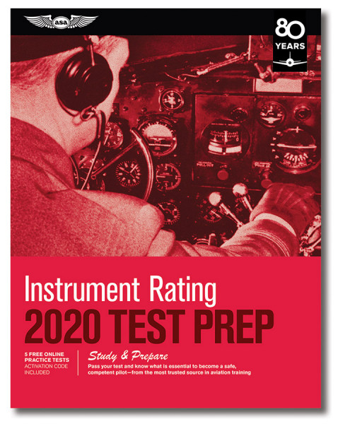Test Prep 2020: Instrument Rating (Buch)