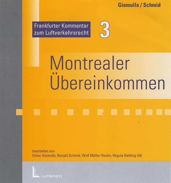 Frankfurter Kommentar zum Montrealer Übereinkommen