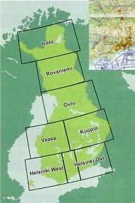 ICAO-Karte - Finnland für Flight Planner